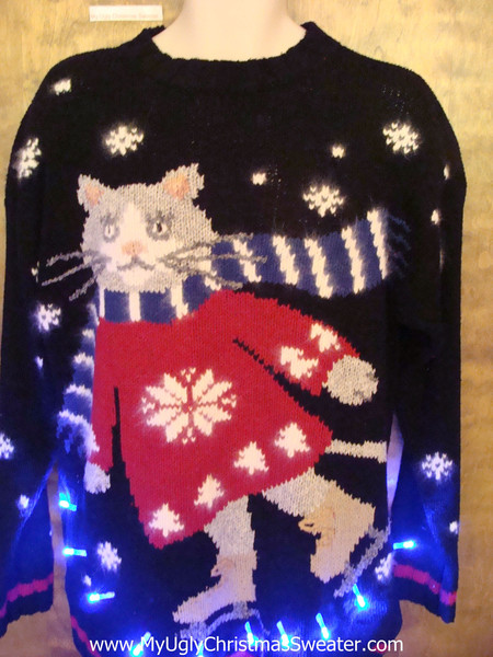 Christmas Cat Sweaters Part Ii Shit My Cake Says